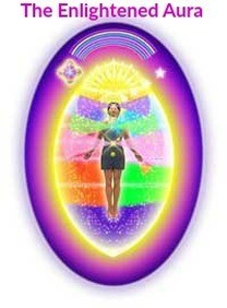 The enlightened aura illustration from Change Your Aura, Change Your Life.