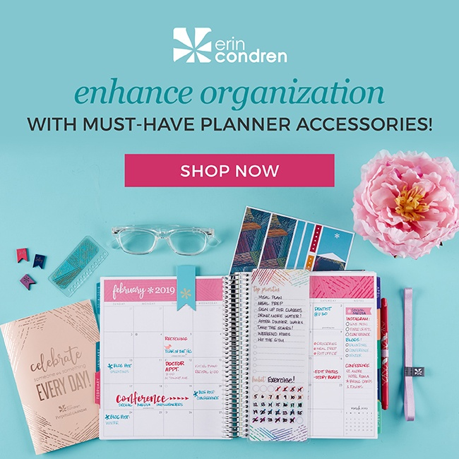 Get your customized planner and unique must-have accessories for your most organized year yet!